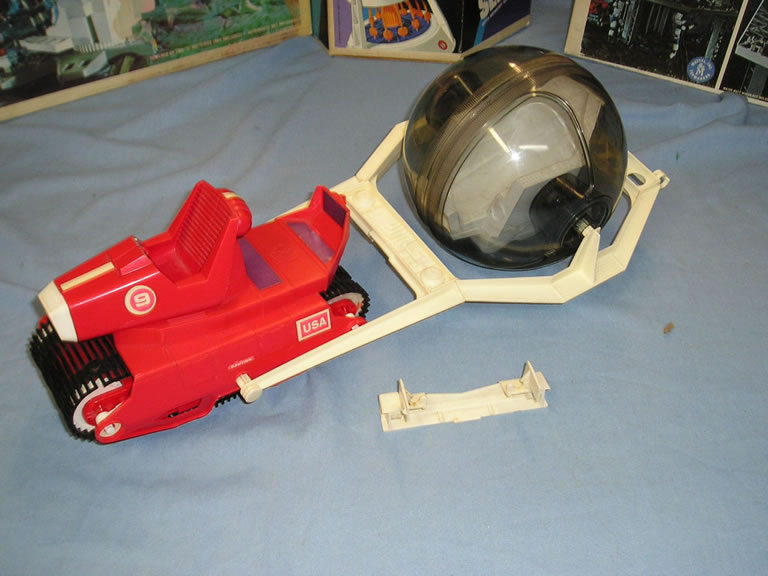 Major Matt Mason Space Vehicles