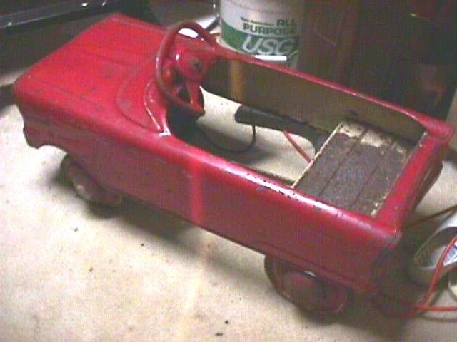 Murray Pedal Tractor Restoration : Murray t bird pedal car restoration mysite u
