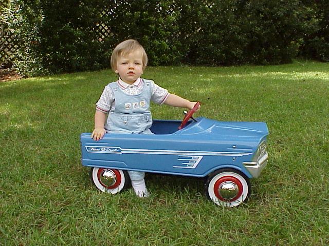 Murray t bird pedal car restoration